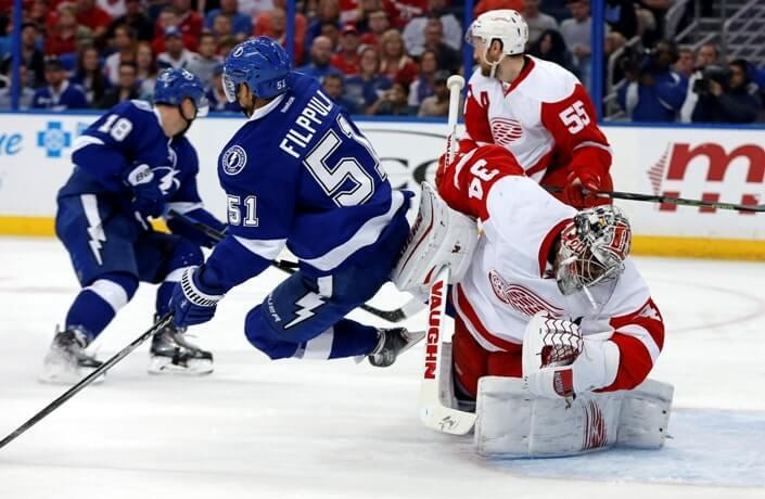 Хоккей. НХЛ. Детройт – Тампа-Бэй. 09.03.2020 г.