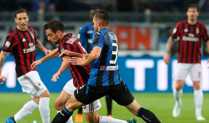 Италия. Серия А. 36 тур. Милан — Аталанта. 24.07. 2020 г.