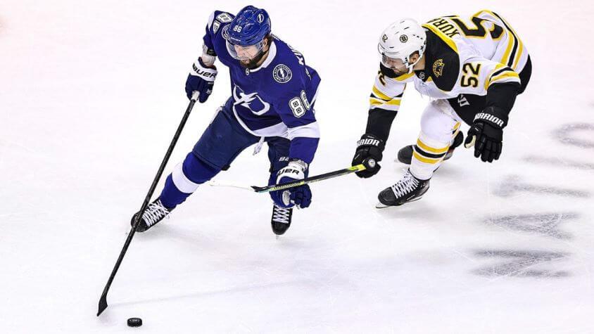 Хоккей. НХЛ. Плей-офф. Тампа-Бэй – Бостон. 01.09.2020 г.
