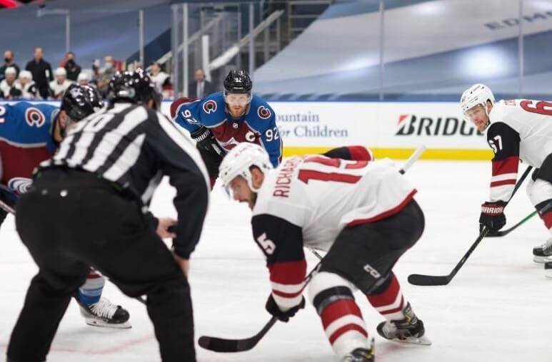 Хоккей. НХЛ. Плей-офф. Колорадо – Аризона. 14.08.2020 г.