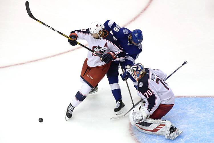 Хоккей. НХЛ. Плей-офф. Коламбус – Тампа-Бэй. 17.08.2020 г.