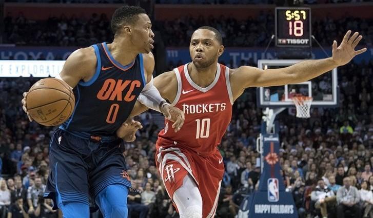 Баскетбол. НБА. Плей-офф. Хьюстон – Оклахома. 20.08.2020 г.