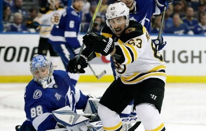 Хоккей. НХЛ. Плей-офф. Тампа-Бэй – Бостон. 26.08.2020 г.