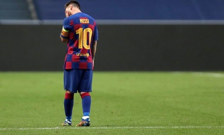 """Месси хочет покинуть """"Барселону"""""""