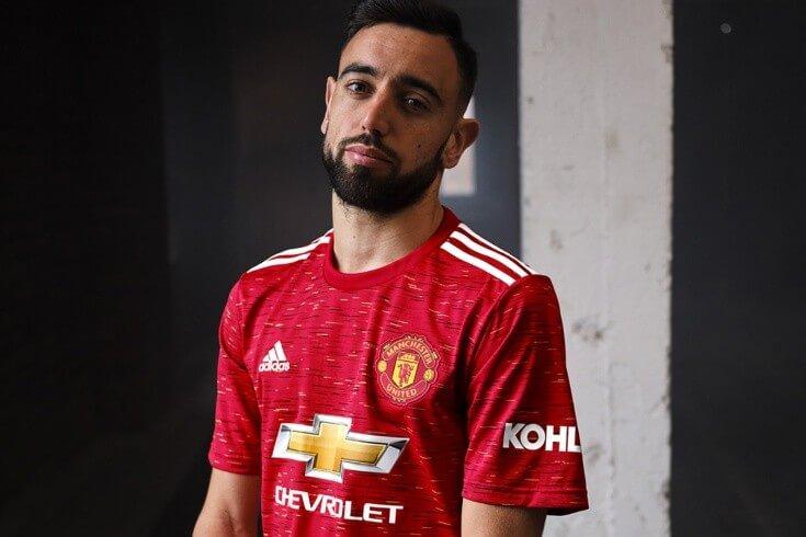 Манчестер Юнайтед представил домашнюю форму на сезон-2020/21