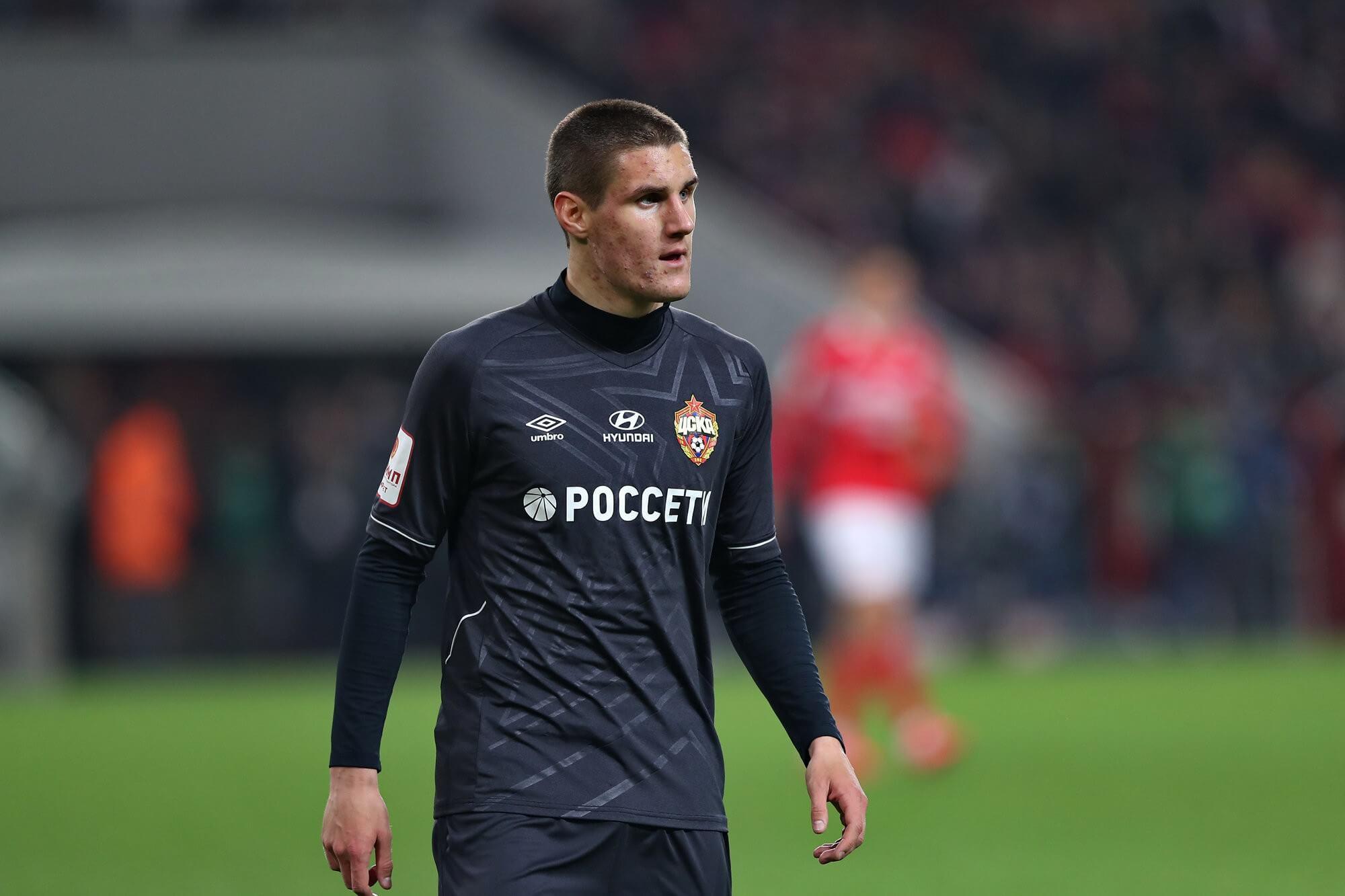 Шкурина может перейти в ЦСКА на правах аренды