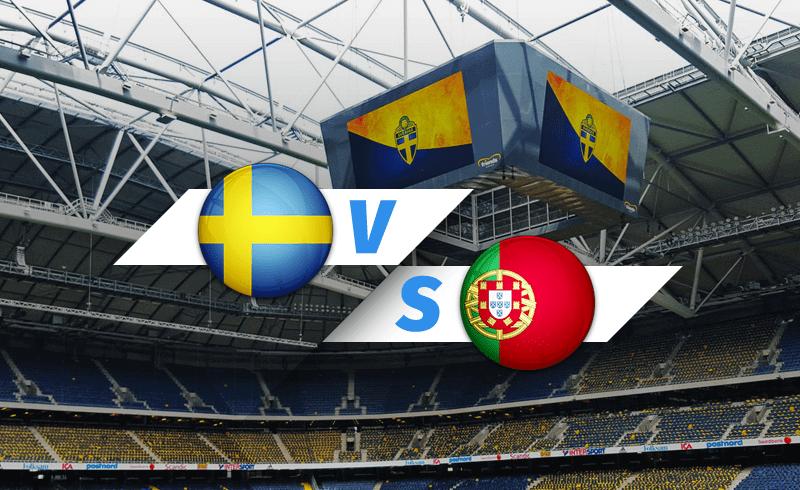 Европа. Лига наций. Лига А. Швеция — Португалия. 08.09. 2020 г.