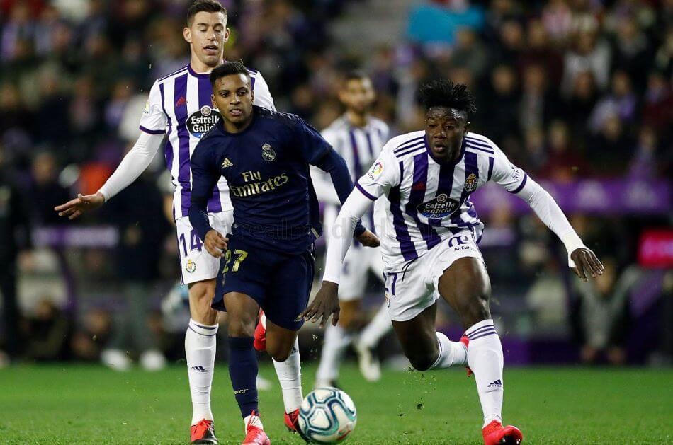 Испания. Примера. 4 тур. Реал Мадрид — Вальядолид. 30.09.2020 г.