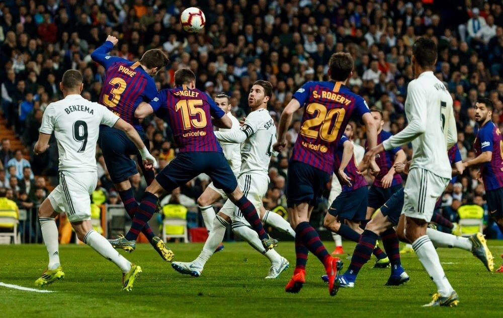 Испания. Примера. 7 тур. Барселона — Реал Мадрид. 24.10.2020 г.