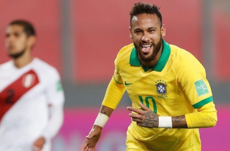 Неймар обошел Роналдо по голам за сборную Бразилии
