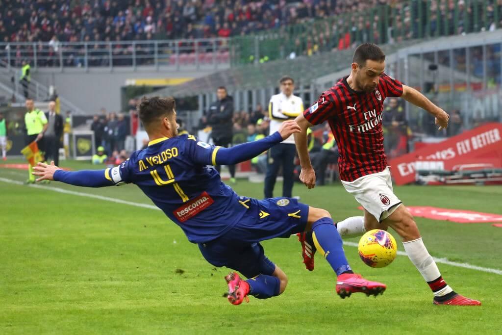 Италия. Серия А. 7 тур. Милан — Верона. 08.11.2020 г.