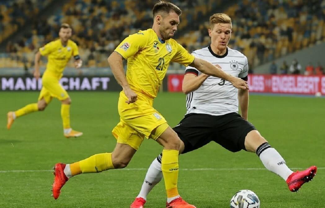 Сборные. Лига наций. Лига А. Германия — Украина. 14.11.2020 г.
