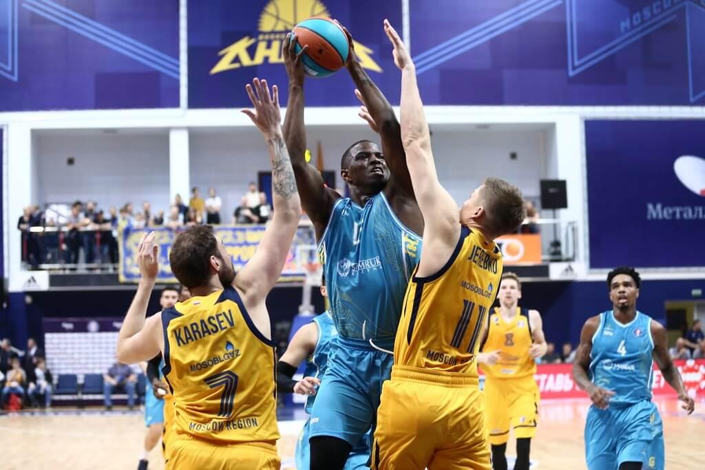 Баскетбол. Единая Лига ВТБ. Регулярный сезон. Астана — Химки. 12.02.2021 г