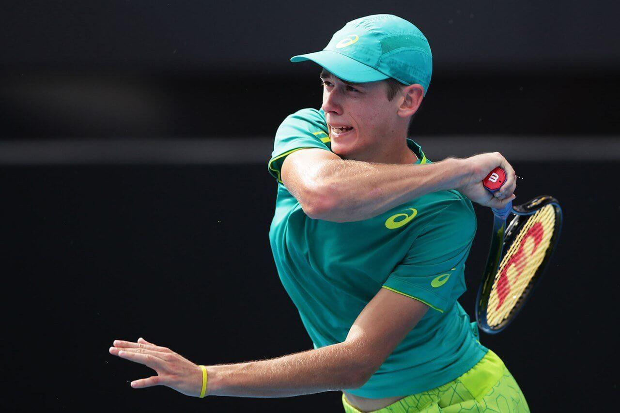 Австралия. ATP. Открытый чемпионат Австралии. Мужчины. 1/16 финала. Фабио Фоньини — Алекс Де Минаур. 13.02.2021 г