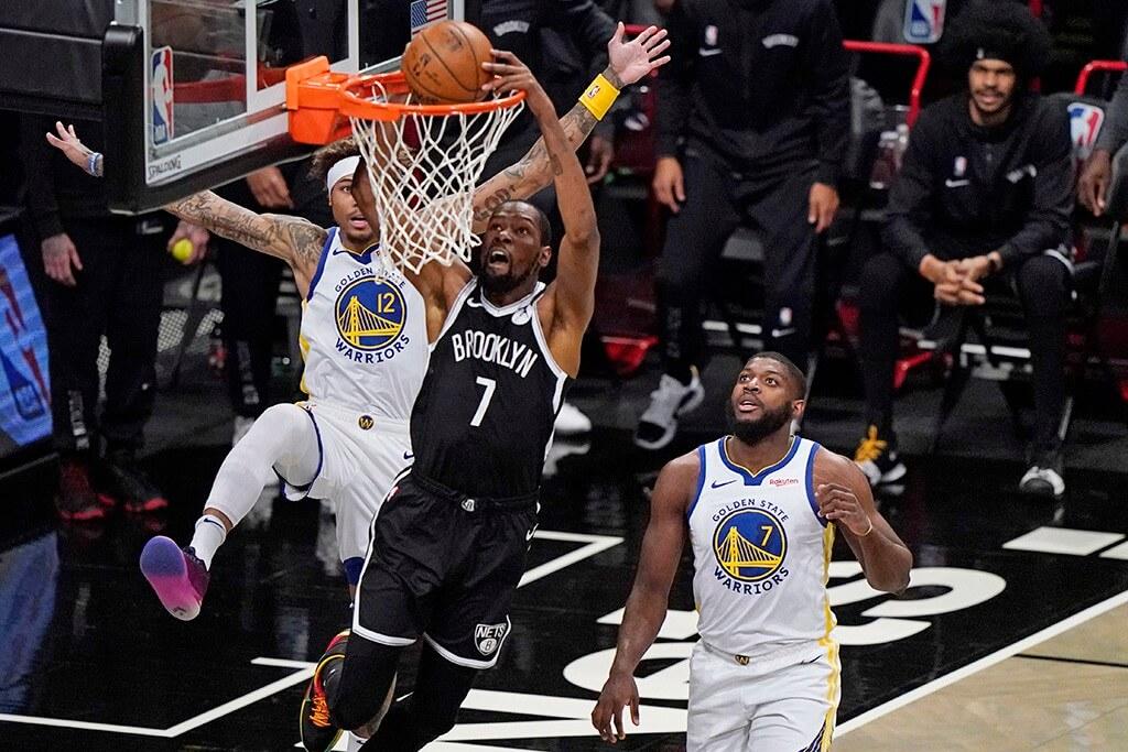 Баскетбол. НБА. Регулярный сезон. Голден Стейт Уорриорз — Бруклин Нетс. 14.02.2021 г