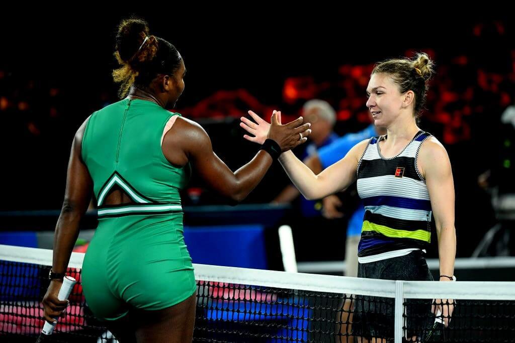Австралия. WTA. Открытый чемпионат Австралии. Женщины. 1/4 финала. Серена Уильямс — Симона Халеп. 16.02.2021 г