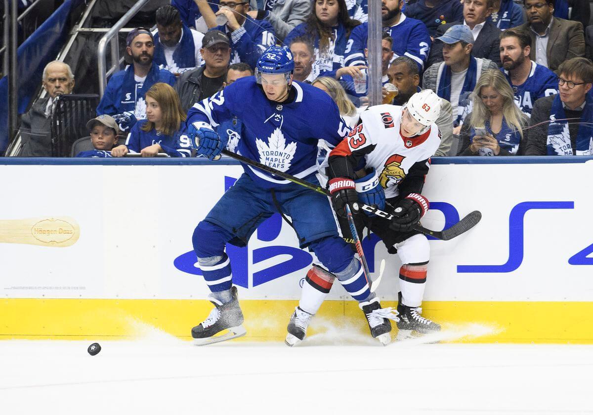 НХЛ. Регулярный чемпионат. Торонто — Оттава. 19.02.2021 г