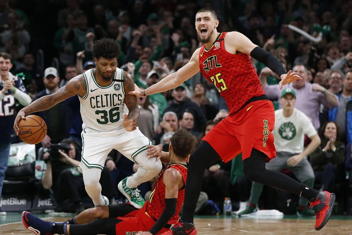 Баскетбол. НБА. Регулярный сезон. Бостон Селтикс — Атланта Хокс. 20.02.2021 г