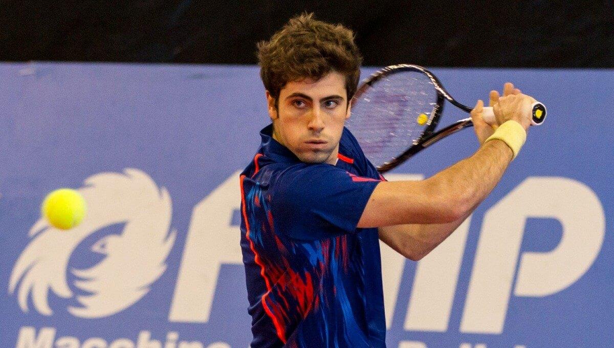 Сингапур. ATP. Квалификация. Мужчины. Полуфинал. Фабрицио Орнаго — Алессандро Бега. 20.02.2021 г