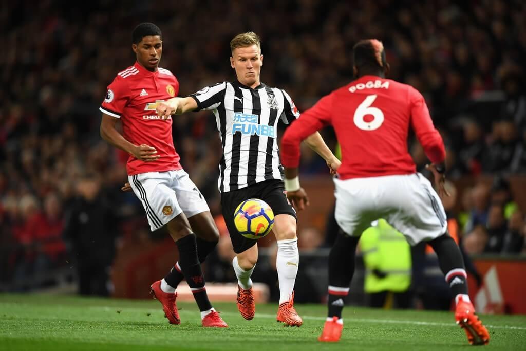 Манчестер Юнайтед — Ньюкасл. Прогноз на матч. 21.02.2021. Англия. Премьер-лига. 25 тур