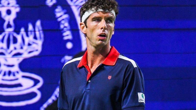 Сингапур. ATP. Мужчины. 1/16 финала. Роберто Маркора — Эрнест Гулбис. 24.02.2021 г