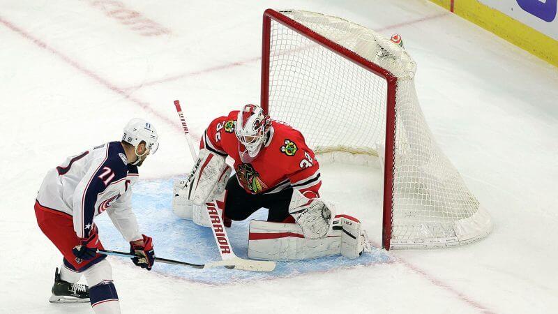 НХЛ. Регулярный чемпионат. Коламбус — Чикаго. 26.02.2021 г