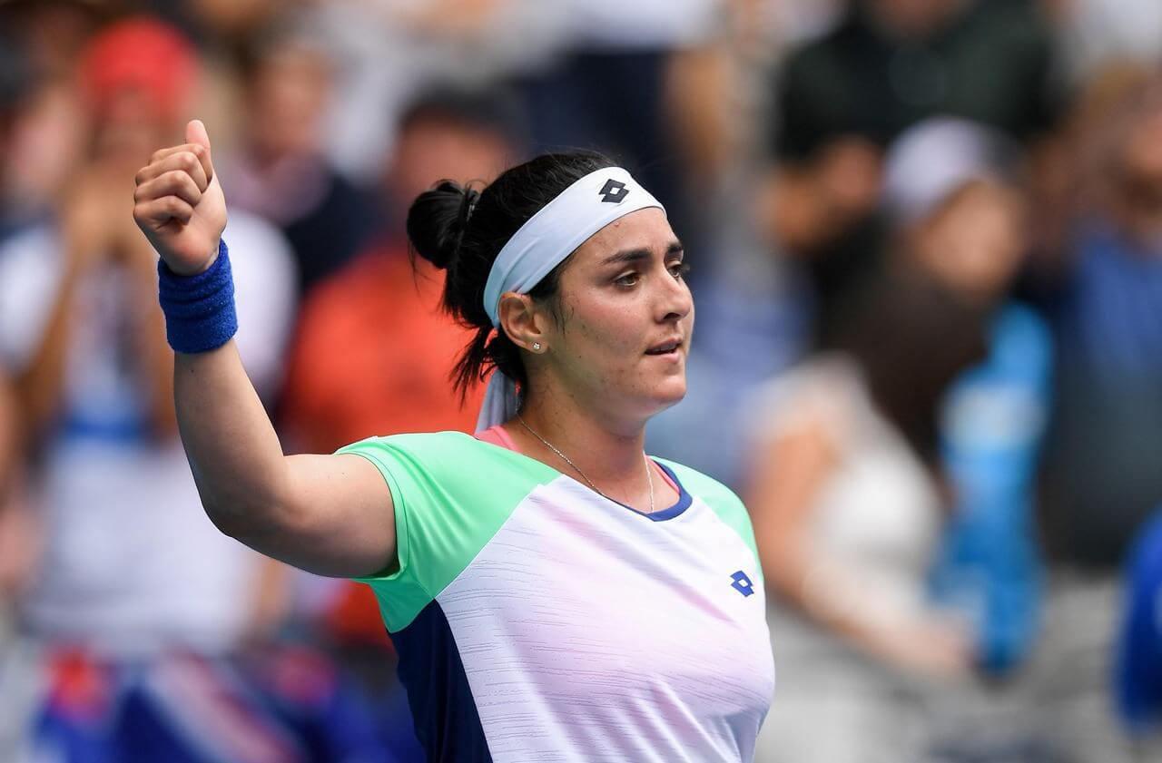 ОАЭ. Дубай. WTA. Женщины. 1/8 финала. Жиль Белен Тайхманн — Онс Жабер. 10.03.2021 г