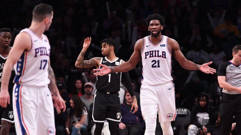 НБА. Регулярный сезон. Филадельфия 76 — Бруклин Нетс. 15.04.2021 г