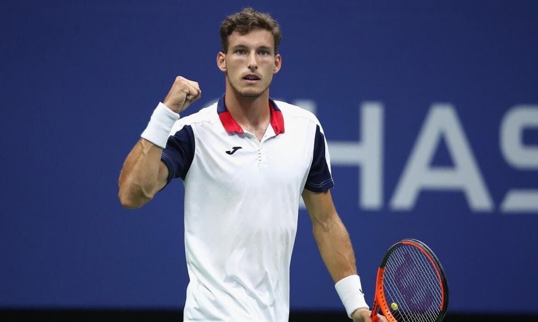 Монако. Монте-Карло. ATP. Мужчины. 1/8 финала. Каспер Рууд — Пабло Карреньо-Буста. 15.04.2021 г