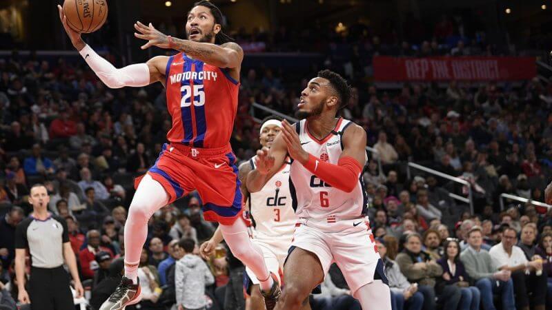 НБА. Регулярный сезон. Вашингтон Уизардс — Детройт Пистонс. 18.04.2021 г