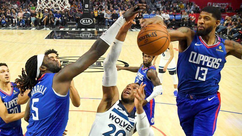 НБА. Регулярный сезон. Лос-Анджелес Клипперс — Миннесота Тимбервулвз. 19.04.2021 г