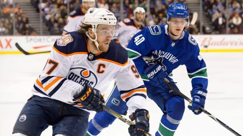 Эдмонтон — Ванкувер. Прогноз на матч. 15.05.2021. НХЛ. Регулярный сезон