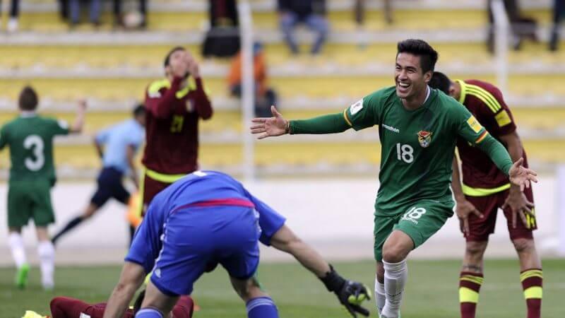 Боливия — Венесуэла. Прогноз на матч. 03.06.2021. Чемпионат Мира 2022. Отборочные матчи