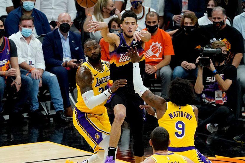 Лос-Анджелес Лейкерс — Финикс Санз. Прогноз на матч. 04.06.2021. НБА. Плей-оф