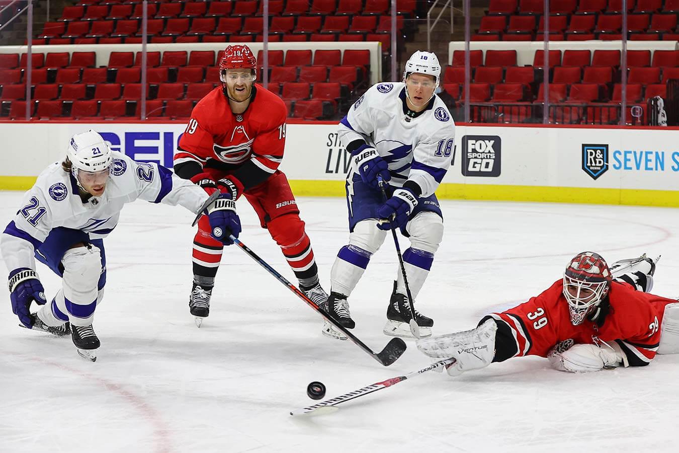 Каролина — Тампа-Бэй. Прогноз на матч. 09.06.2021. НХЛ. Плей-офф