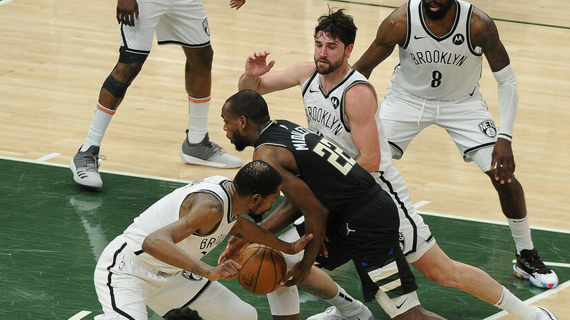 Бруклин Нетс — Милуоки Бакс. Прогноз на матч. 20.06.2021. НБА. Плей-офф