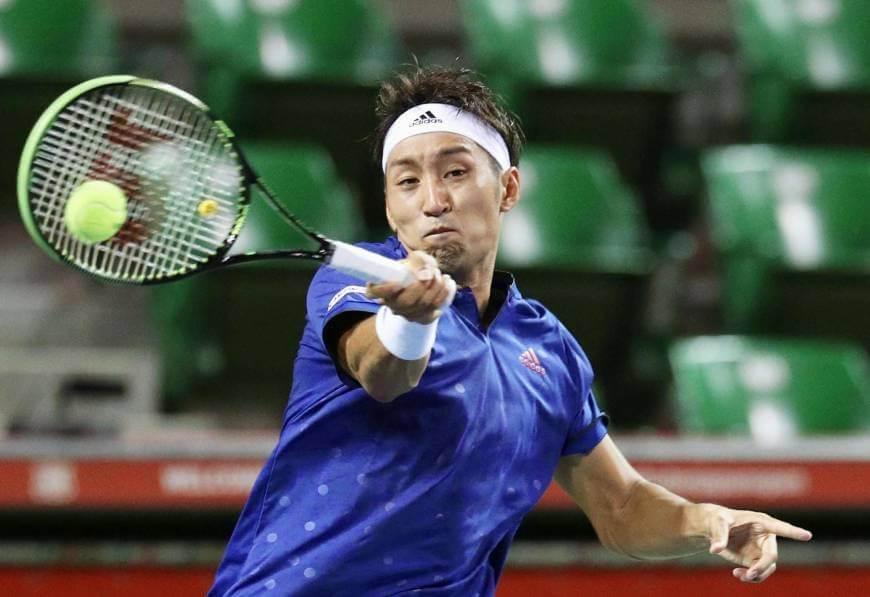 Атланта. ATP. Мужчины. 1/16 финала. Ясутака Утияма — Бенуа Пэр. 27.07.2021 г