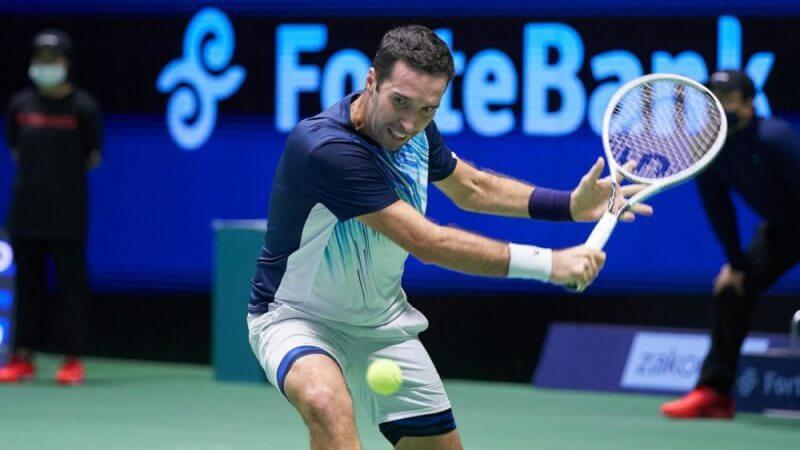 US Open. ATP. Мужчины. Квалификация. 1/4 финала. Михаил Кукушкин — Матиас Бурк. 25.08.2021 г.