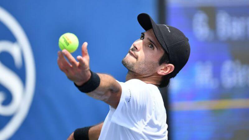 US Open. ATP. Мужчины. 1/32 финала. Маркос Хирон — Даниэл Эванс. 01.09.2021 г.