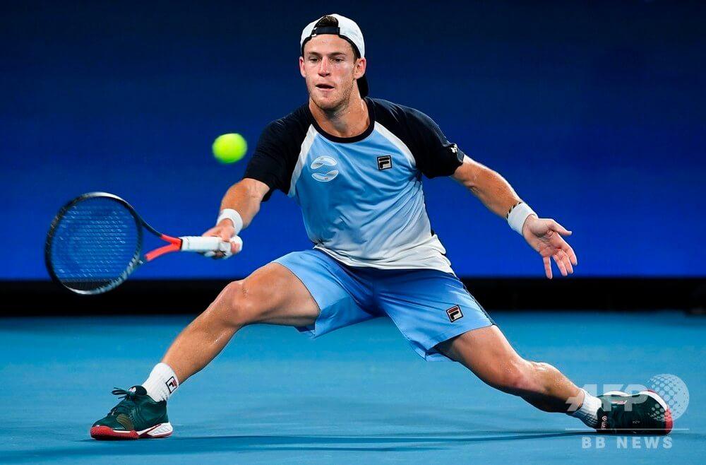 US Open. ATP. Мужчины. 1/8 финала. Ботик Ван де Зандшульп — Диего Шварцман. 05.09.2021 г.