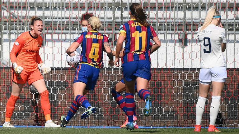 Барселона — Арсенал. Прогноз на матч. 05.10.2021. Женщины. Лига Чемпионов. Групповой этап