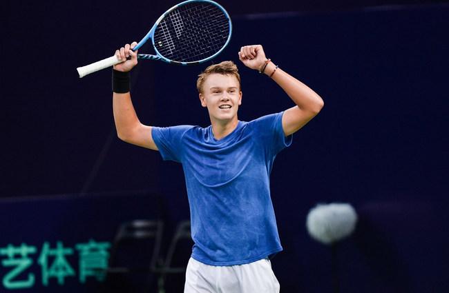 Индиан Уэллс. ATP. Мужчины. 1/64 финала. Хольгер Руне — Эрнесто Эскобедо. 08.10.2021 г