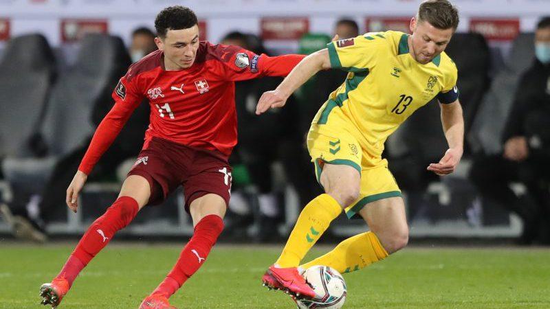Литва — Швейцария. Прогноз на матч. 12.10.2021. Чемпионат Мира 2022. Отборочные матчи